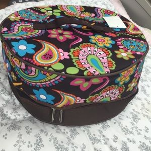 Handbags - NWT Paisley & Floral insulated plate carrier